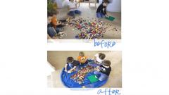 LEGO Floor Mat Cinch Sacks