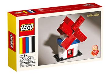 LEGO 60th Anniversary Limited Edition Windmill Set