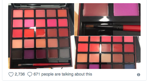 ULTA Used Cosmetic Lawsuit Class Action Employee Twitter Pictures