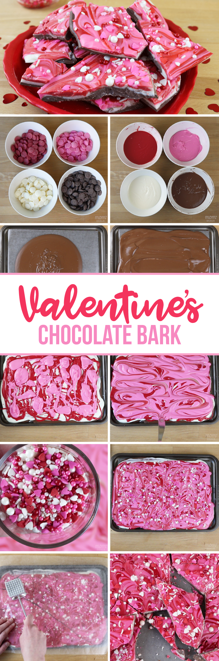 How to Make Valentine's Day Candy Bark (With Pictures & Video)
