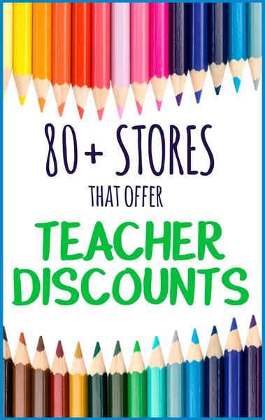 Teacher Discounts: 80+ Stores That Offer Teacher Discounts Image