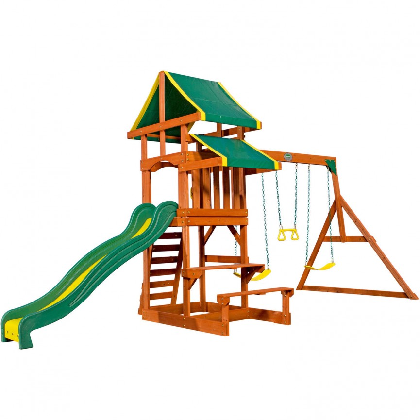 Wooden Swing Sets On Clearance Right Now @ Walmart