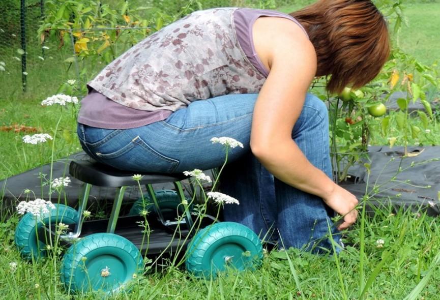 Rolling Garden Cart Scooters $19.99 (was $41) @ Walmart