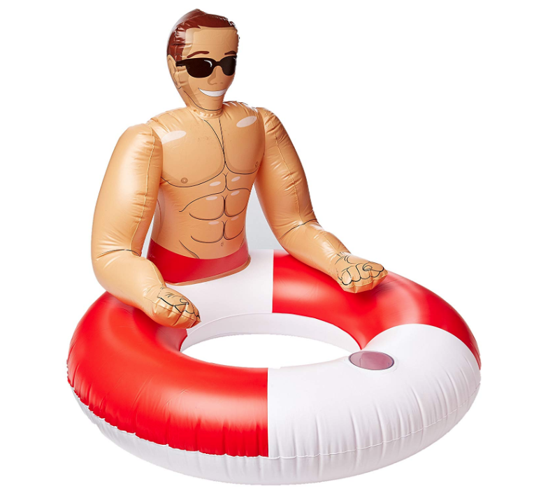 Hunk Swimming Pool Float Just $19 @ Amazon