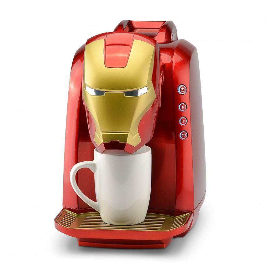 Marvel Iron Man Single Serve Coffee Maker Now $20 Off @ Amazon