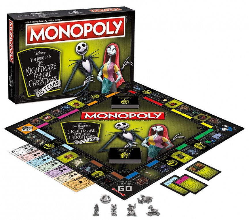 The Nightmare Before Christmas Monopoly Set $35 (was $40) @ Amazon