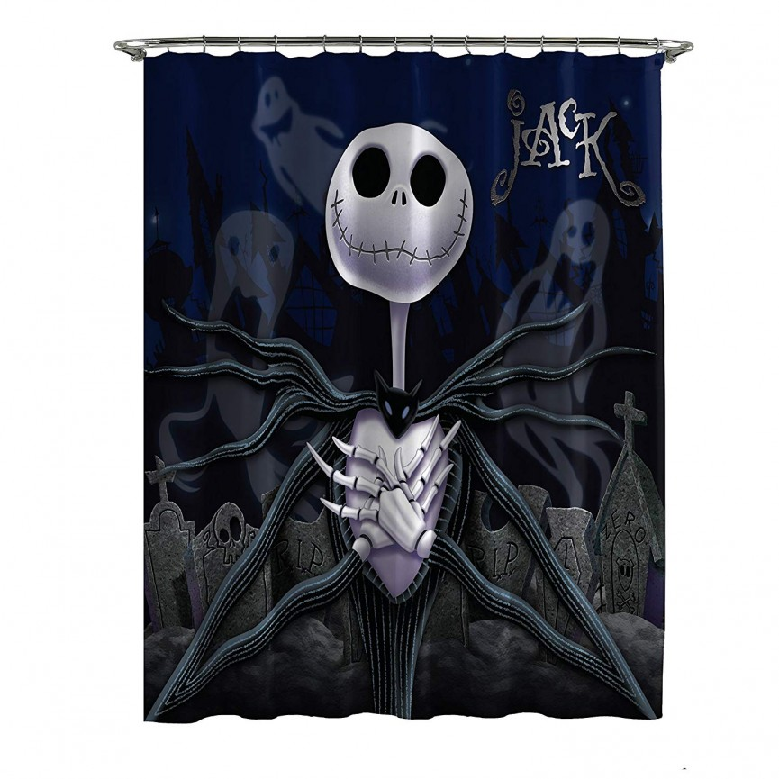 Check Out The Nightmare Before Christmas Bathroom Collection