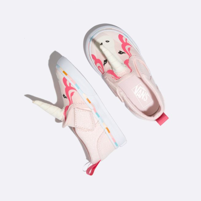 Toddler Asher V Baby Shark & Unicorn Vans $35 @ Vans