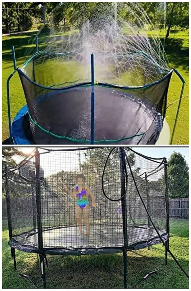 Trampoline Waterpark Down To $30 @ Amazon