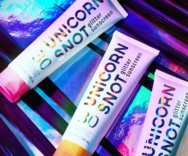 Unicorn Glitter Sunscreen Only $19.99 @ Amazon