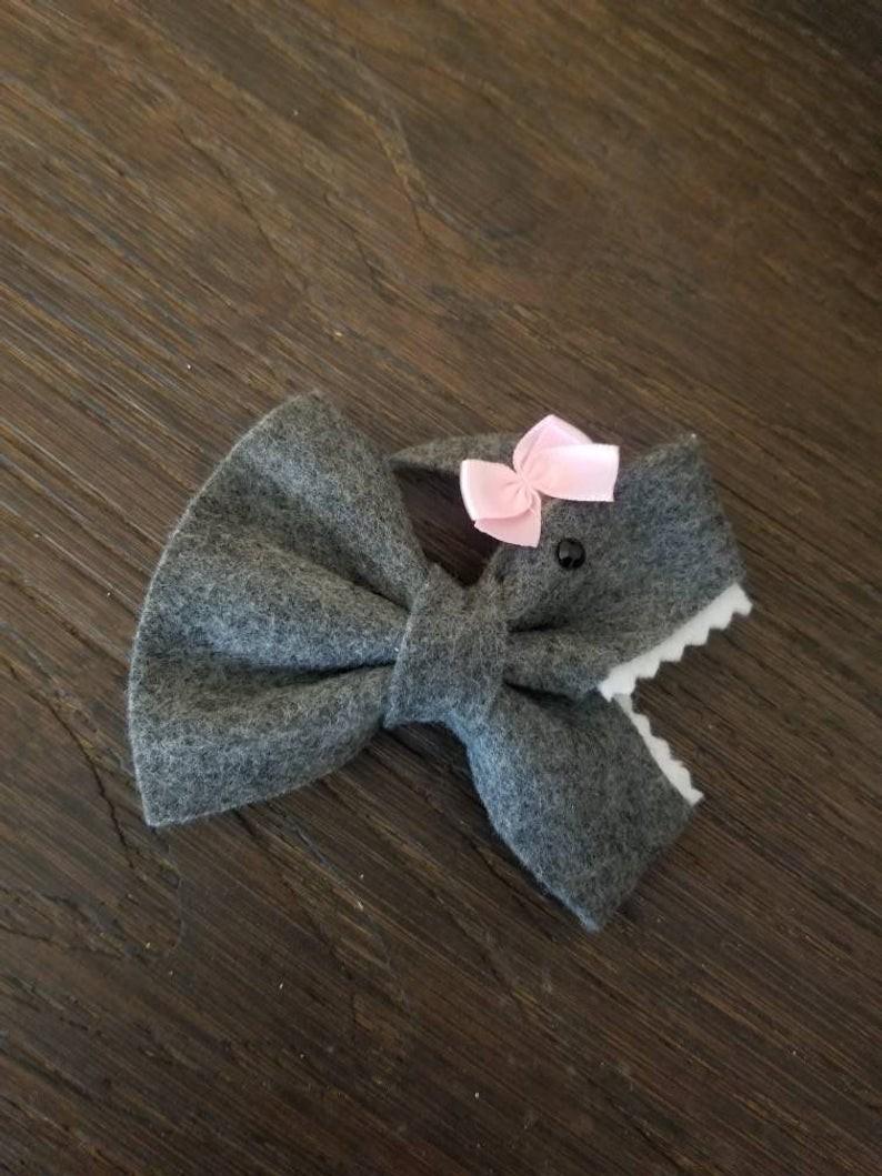 Baby Shark Hair Bows Just $5 @ Etsy
