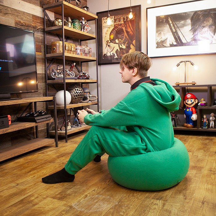 Check Out This Bean Bag Onesie Seat @ Thinkgeek