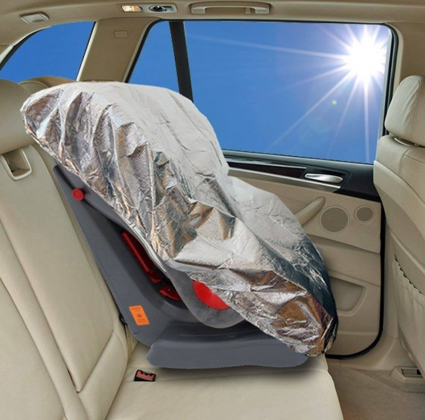 Car Seat Sun Shade Only $4 @ Amazon