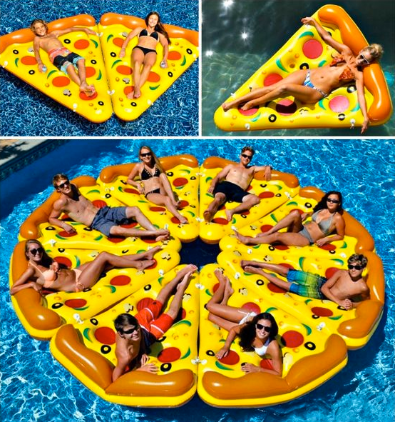 Swimline Connectable Pizza Floats Only $15 (was $59.99) @ Walmart