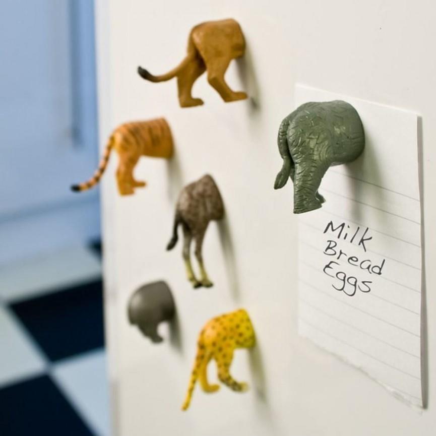 Kikkerland Cat Butt Magnets Set of 6 Just $12 @ Amazon