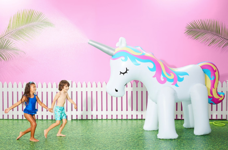 Giant 6ft Unicorn Sprinkler