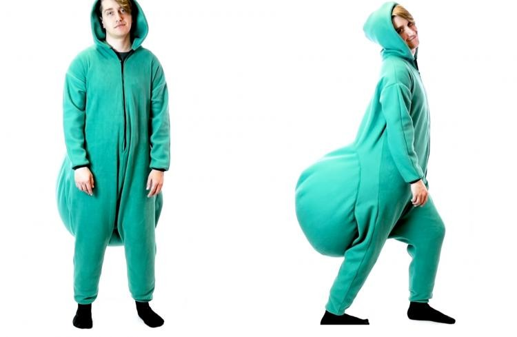 The Junk In The Trunk Bean Bag Onesie Is Here @ ThinkGeek