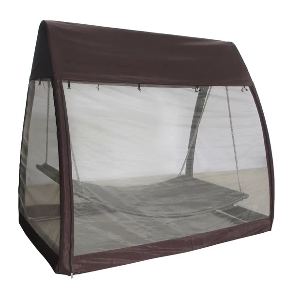 Outdoor Swing With Canopy Cover $224.99 @ Wayfair