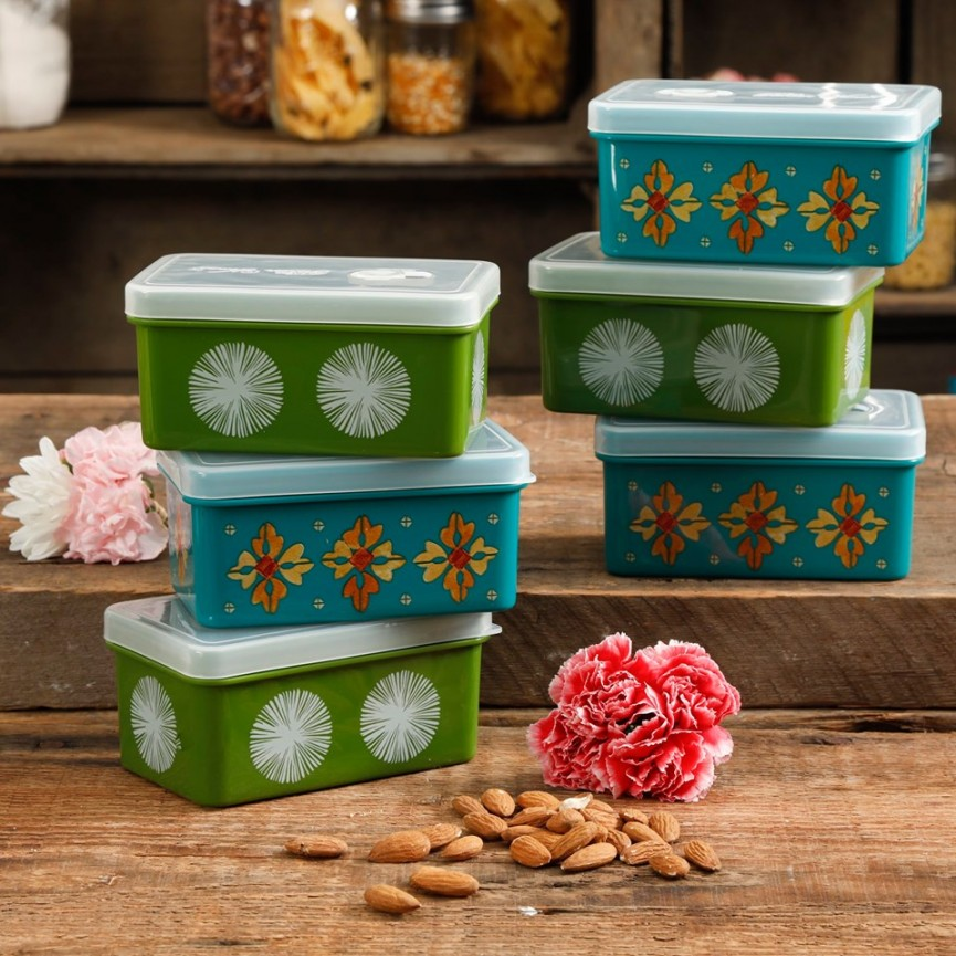 The Pioneer Woman 4 Piece Storage Sets $7.88 @ Walmart