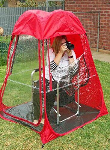 Under The Weather Personal Pod Tents $100 @ Amazon