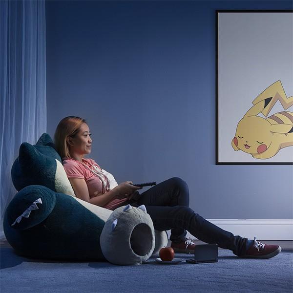 Snorlax Bean Bag Chair Now In Stock @ ThinkGeek