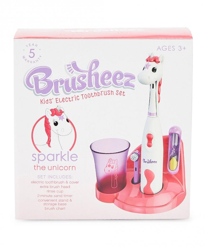 Unicorn Brusheez Kid's Electric Toothbrush Set Just $19 @ Amazon