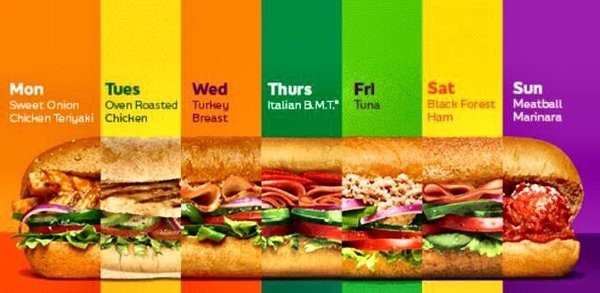 Subway Sub Of The Day: Daily Specials & Sandwich Guide (2019)