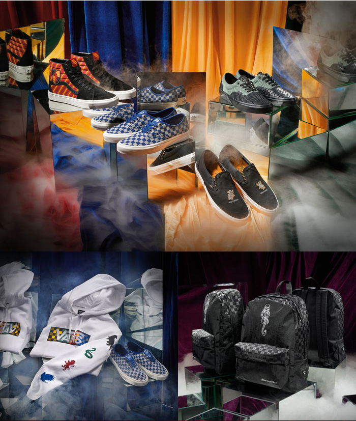 Vans Launches Limited-Edition Collection Inspired by Harry Potter