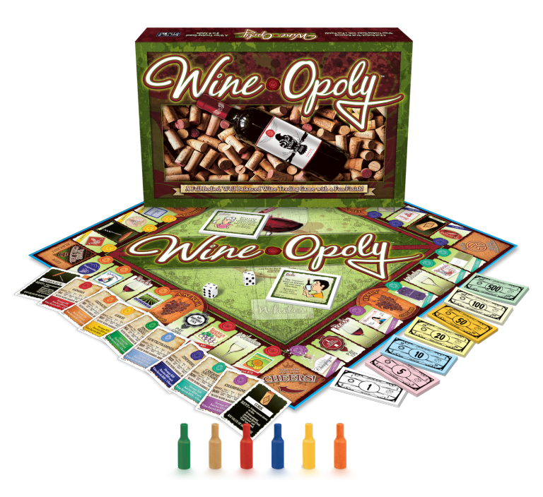 Wine-Opoly Monopoly Board Game $15 @ Amazon