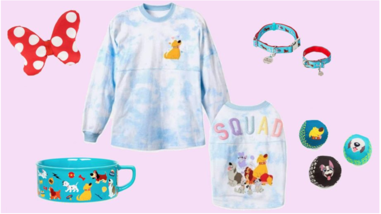 Disney's Matching Owner And Dog Collection Is Here!