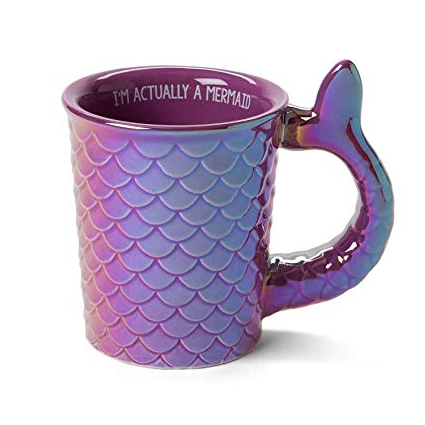 I'm Actually A Mermaid Mug $14.99 @ Amazon