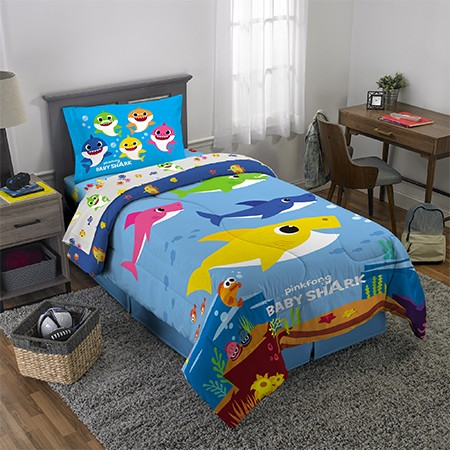 Baby Shark Bed in a Bag Bedding Set $49.97 (Reg. $63.96) @ Walmart