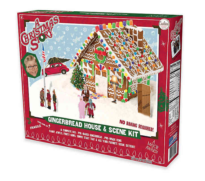 A Christmas Story Gingerbread House Now Available @ Bed Bath & Beyond