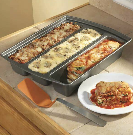 This Trio Lasagna Pan Will Take Holiday Cooking To The Next Level