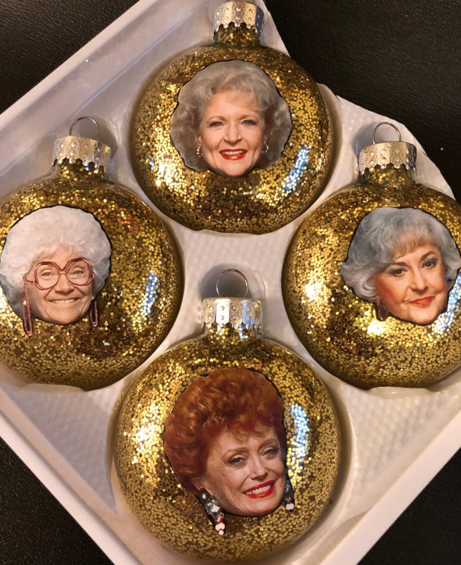 Check Out These Golden Girl Christmas Ornaments