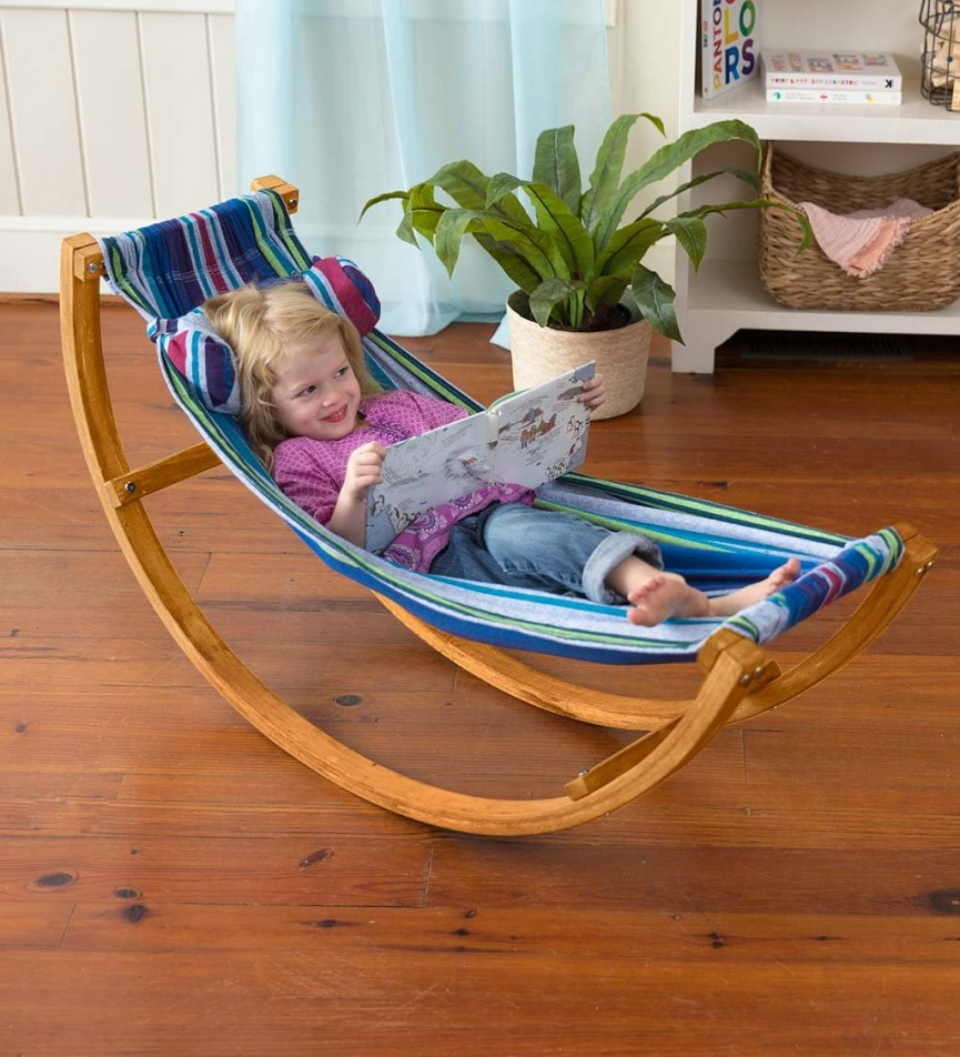 The Magic Cabin Kids Rocking Hammock Looks Like The Perfect Spot To Relax