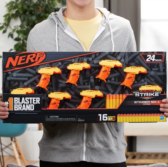 Check Out These Fortnite x Nerf Guns!