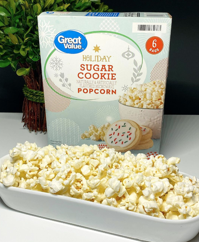 You Can Now Buy Sugar Cookie Popcorn at Walmart