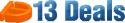 13 Deals logo